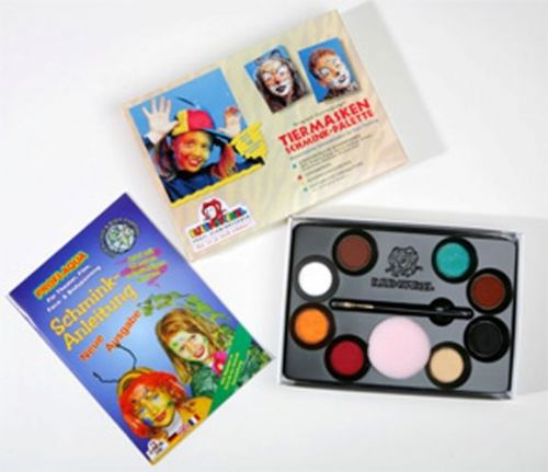 8 Colour Palette Animal Make-Up Box Nature Zoo Wildlife Book Week